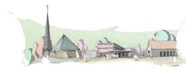 ENEFF Architekten, Wettbewerb Wohnen am Quartiersplatz, Wörthsee